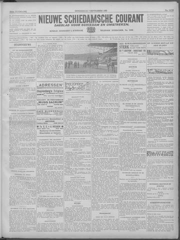 Nieuwe Schiedamsche Courant 1933-09-07