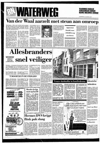 Rotterdamsch Nieuwsblad / Schiedamsche Courant / Rotterdams Dagblad / Waterweg / Algemeen Dagblad 1985-08-08