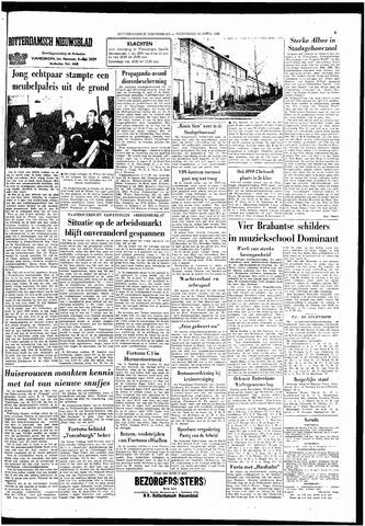 Rotterdamsch Nieuwsblad / Schiedamsche Courant / Rotterdams Dagblad / Waterweg / Algemeen Dagblad 1966-04-13