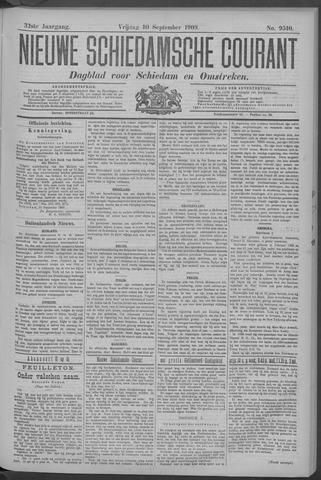 Nieuwe Schiedamsche Courant 1909-09-10