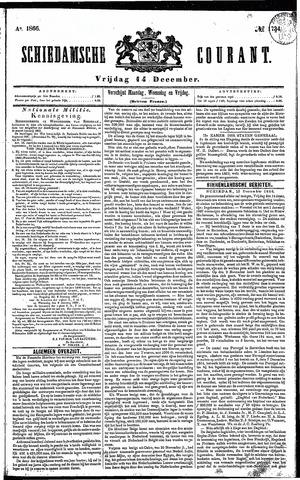 Schiedamsche Courant 1866-12-14