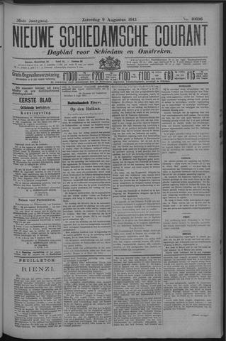 Nieuwe Schiedamsche Courant 1913-08-09