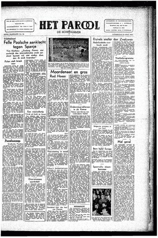 Rotterdamsch Parool / De Schiedammer 1946-04-18