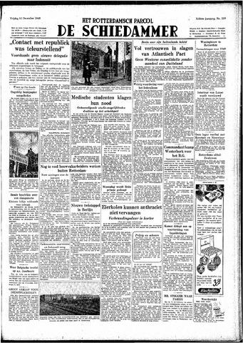 Rotterdamsch Parool / De Schiedammer 1948-12-10