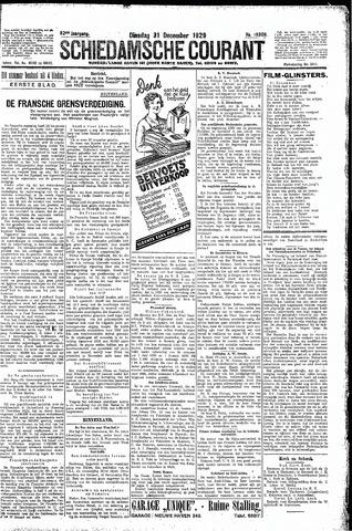 Schiedamsche Courant 1929-12-31
