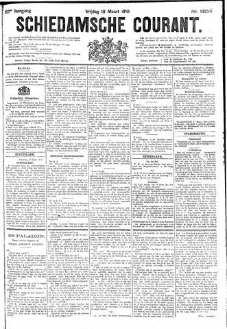 Schiedamsche Courant 1910-03-18