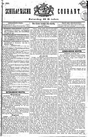 Schiedamsche Courant 1851-10-11