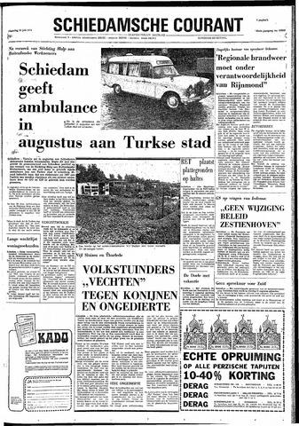 Rotterdamsch Nieuwsblad / Schiedamsche Courant / Rotterdams Dagblad / Waterweg / Algemeen Dagblad 1974-07-15