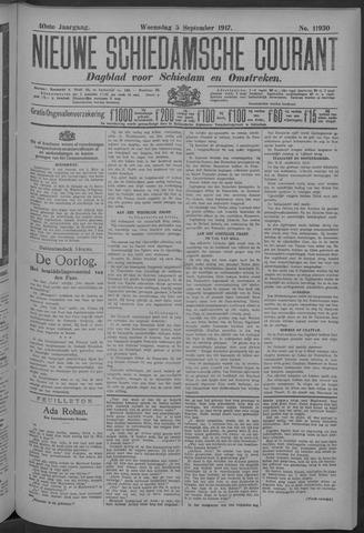 Nieuwe Schiedamsche Courant 1917-09-05