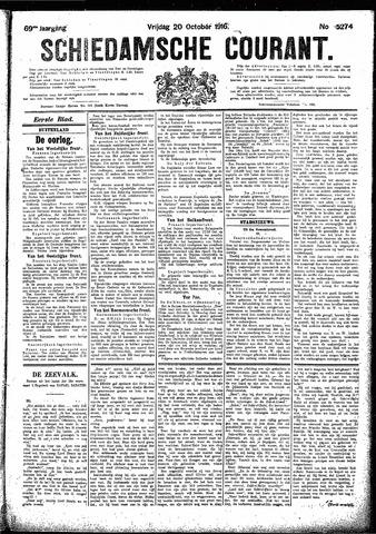 Schiedamsche Courant 1916-10-20