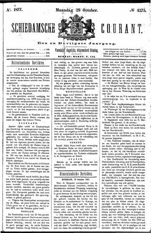 Schiedamsche Courant 1877-10-29