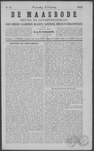 De Maasbode 1853-02-09