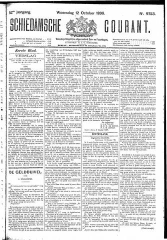 Schiedamsche Courant 1898-10-12