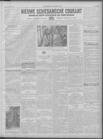 Nieuwe Schiedamsche Courant 1932-08-18