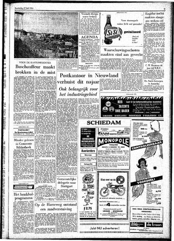 Rotterdamsch Parool / De Schiedammer 1961-07-27