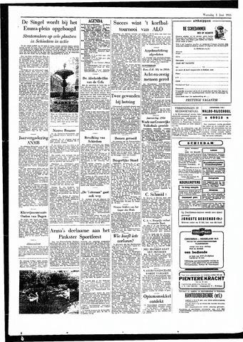 Rotterdamsch Parool / De Schiedammer 1955-06-01