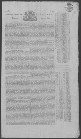 Rotterdamse Courant 1823-07-12