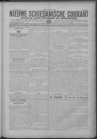 Nieuwe Schiedamsche Courant 1925-03-27