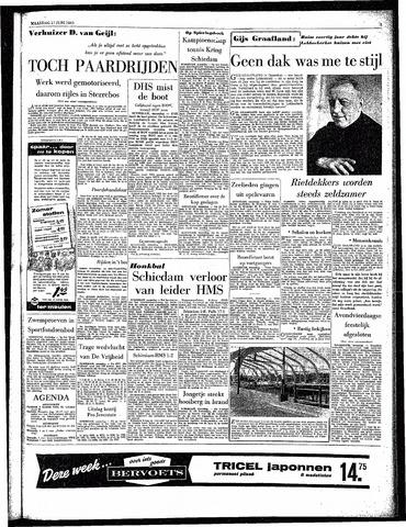 Rotterdamsch Parool / De Schiedammer 1963-06-17