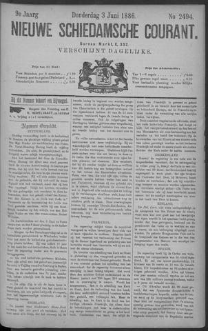 Nieuwe Schiedamsche Courant 1886-06-03