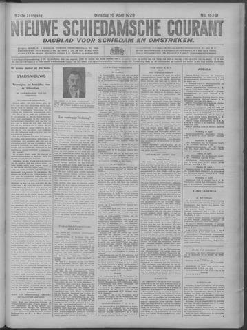 Nieuwe Schiedamsche Courant 1929-04-16