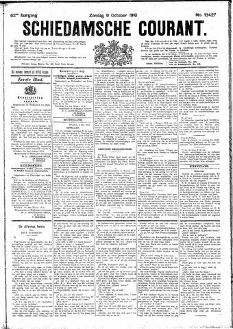 Schiedamsche Courant 1910-10-09