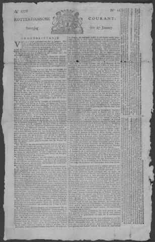 Rotterdamse Courant 1776-01-27