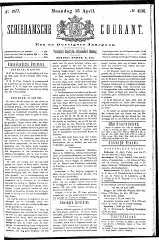 Schiedamsche Courant 1877-04-16