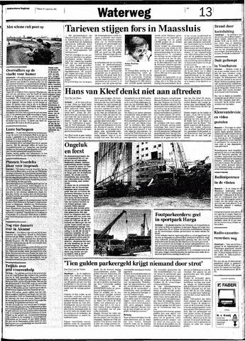 Rotterdamsch Nieuwsblad / Schiedamsche Courant / Rotterdams Dagblad / Waterweg / Algemeen Dagblad 1991-08-30