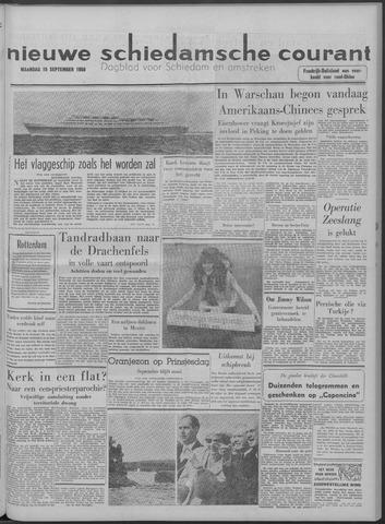 Nieuwe Schiedamsche Courant 1958-09-15