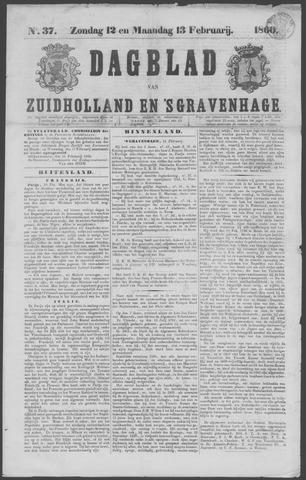 Dagblad van Zuid-Holland 1860-02-12