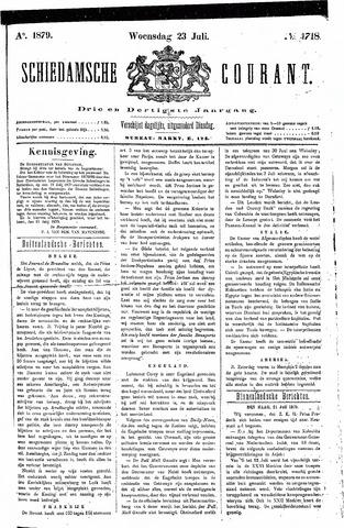Schiedamsche Courant 1879-07-23