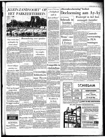 Rotterdamsch Parool / De Schiedammer 1964-07-14