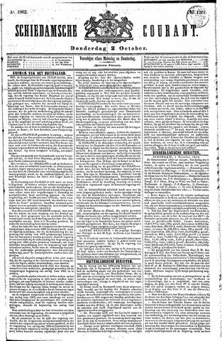 Schiedamsche Courant 1862-10-02