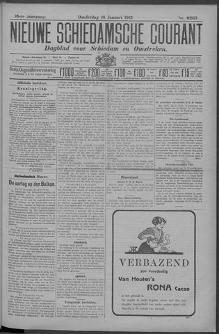 Nieuwe Schiedamsche Courant 1913-01-16