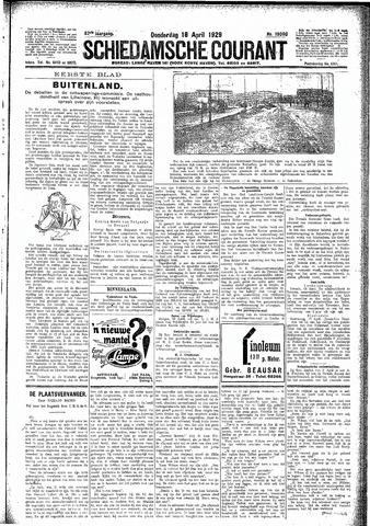 Schiedamsche Courant 1929-04-18