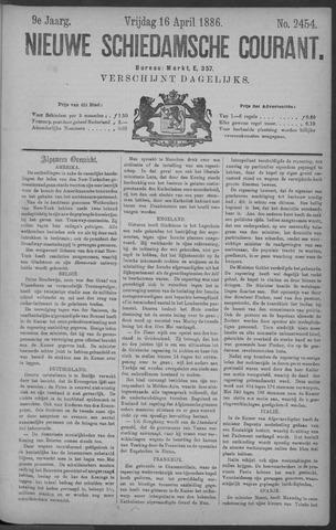 Nieuwe Schiedamsche Courant 1886-04-16
