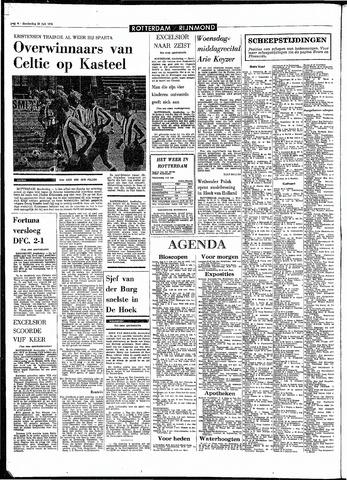 Rotterdamsch Parool / De Schiedammer 1970-07-30