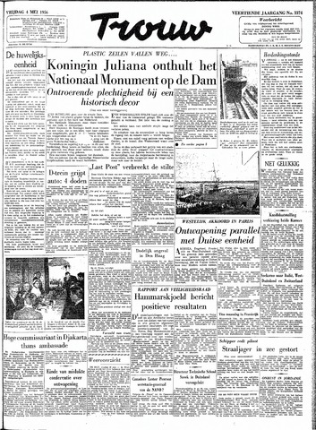 Trouw / De Rotterdammer 1956-05-04
