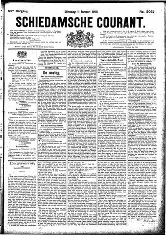 Schiedamsche Courant 1916-01-11