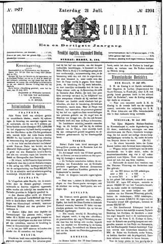 Schiedamsche Courant 1877-07-21