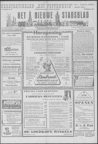 Het Nieuwe Stadsblad 1951-12-14