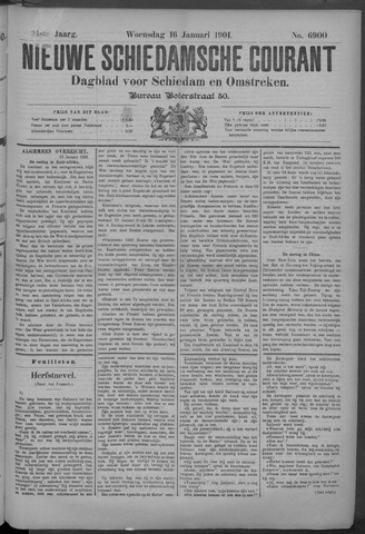 Nieuwe Schiedamsche Courant 1901-01-16