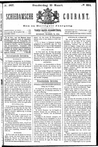 Schiedamsche Courant 1877-03-15