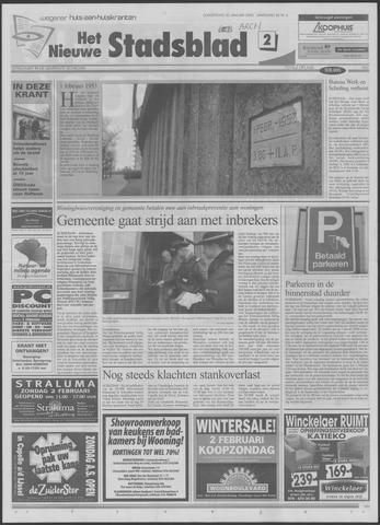 Het Nieuwe Stadsblad 2003-01-30