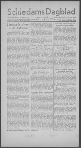 Schiedamsch Dagblad 1945-01-10