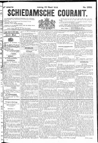 Schiedamsche Courant 1908-03-29