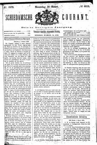 Schiedamsche Courant 1879-03-10