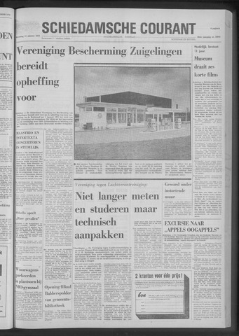 Rotterdamsch Nieuwsblad / Schiedamsche Courant / Rotterdams Dagblad / Waterweg / Algemeen Dagblad 1970-10-21