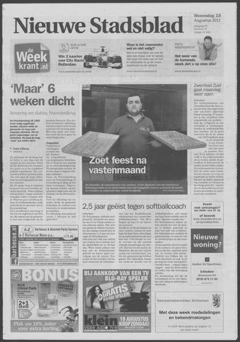 Het Nieuwe Stadsblad 2012-08-15